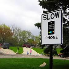 slowed down iphone